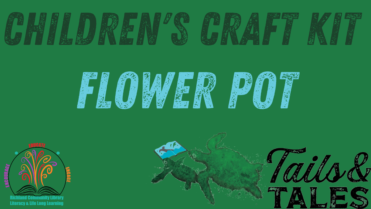 Children's Craft Kit: Flower Pot
