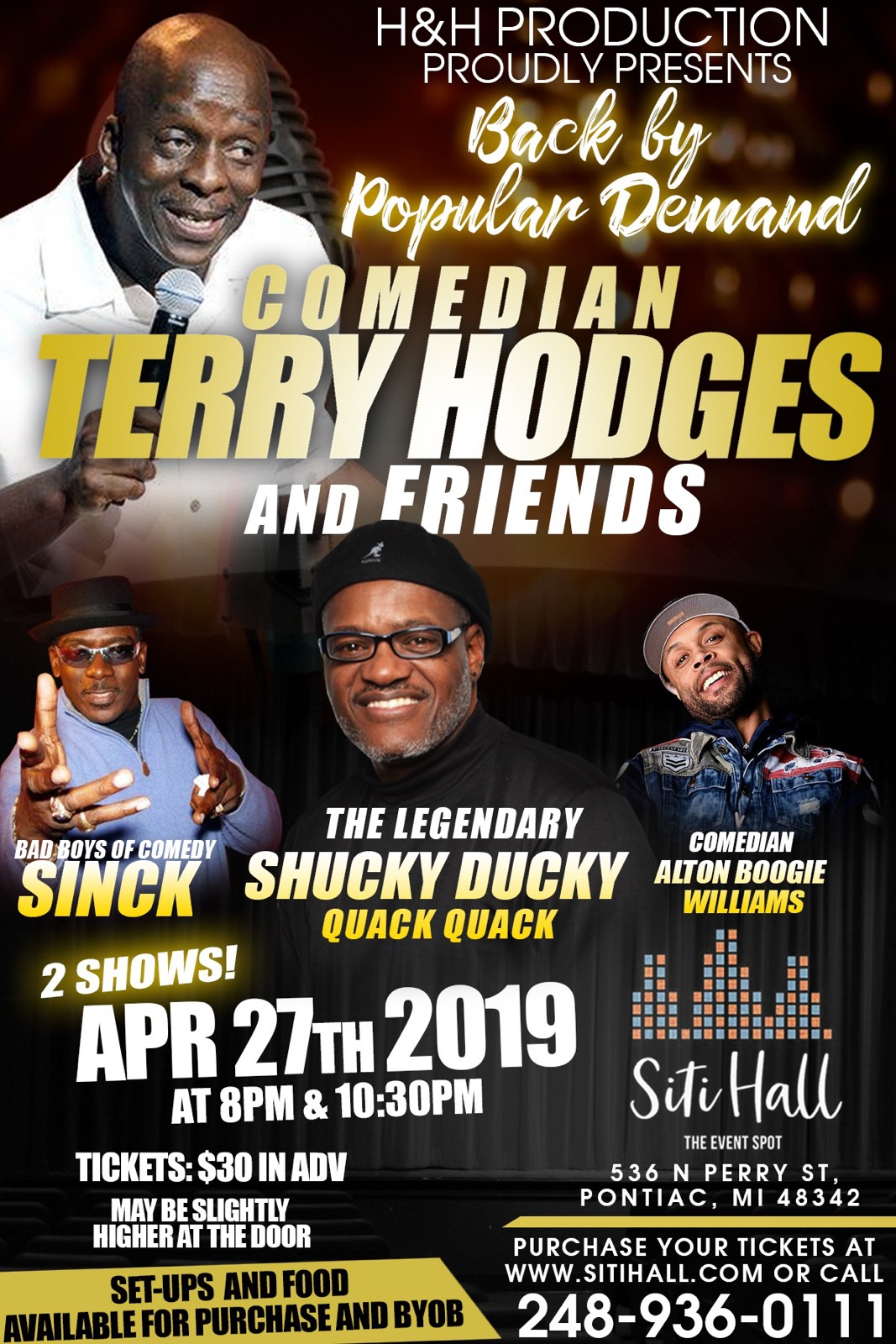 Terry Hodges and Friends of Comedy
