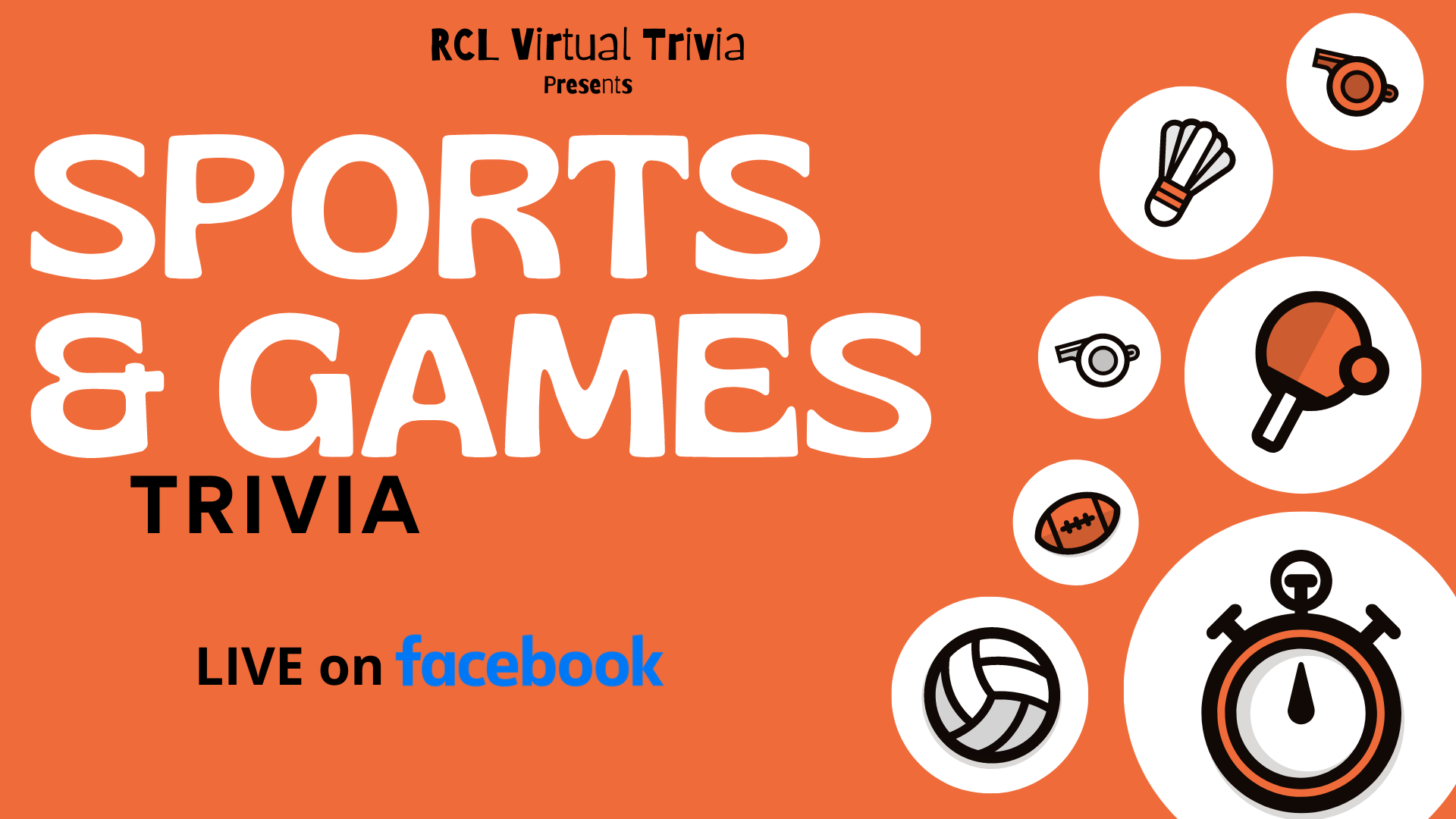Sports & Games Trivia on Facebook Live
