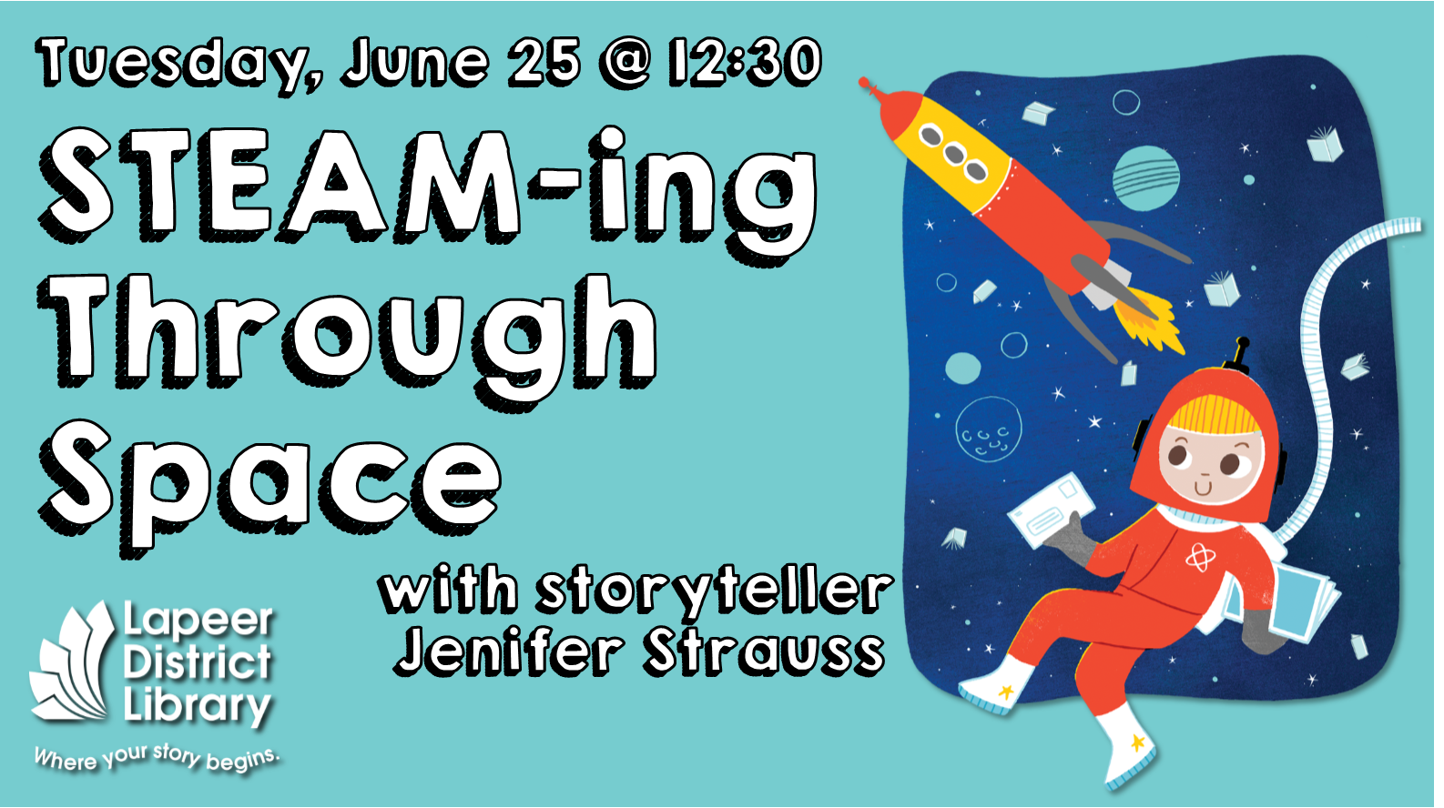 S.T.E.A.M.-ing Through Space with Jenifer Strauss