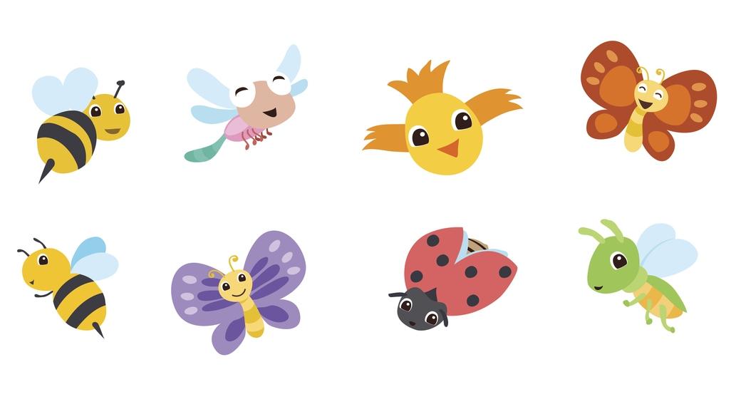 Bedtime Tales: Flying Friends
