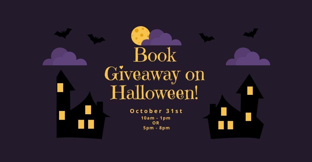 Book Giveaway on Halloween!