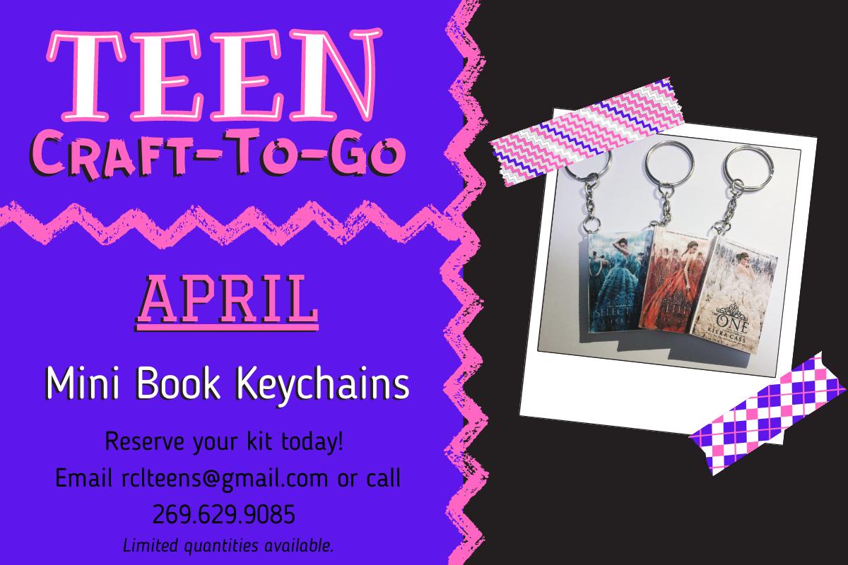 Teen Craft-To-Go: Mini Book Keychains