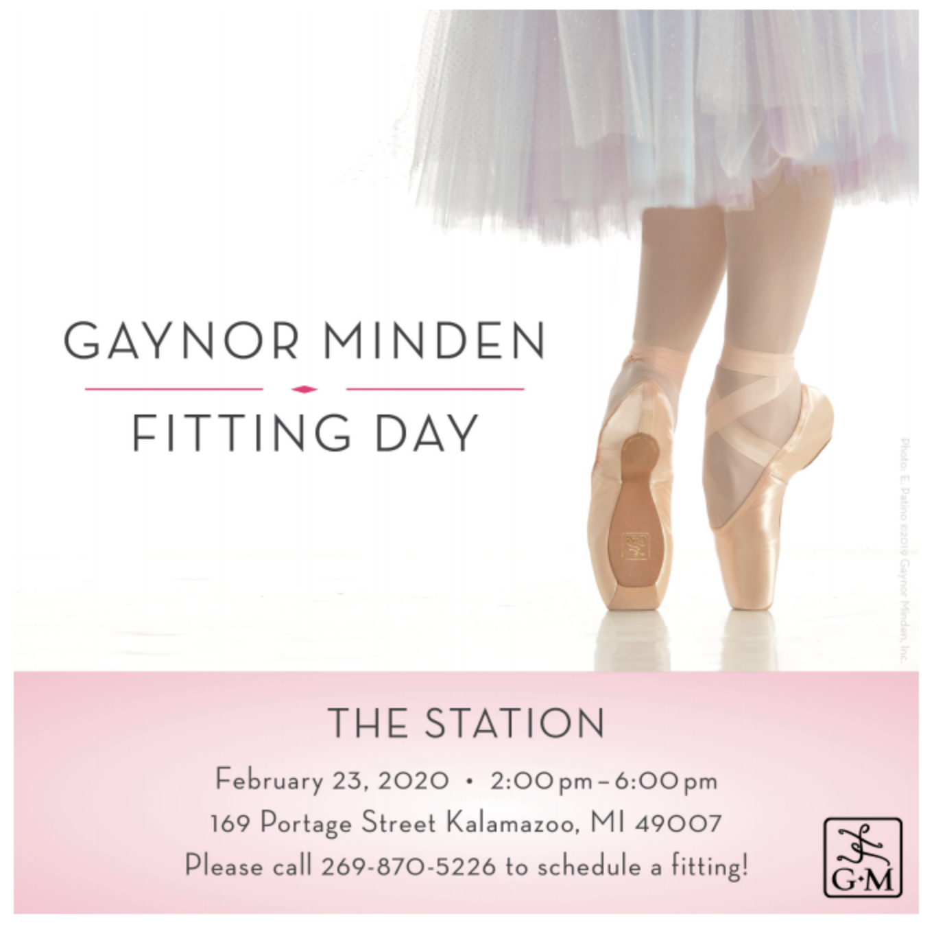 Gaynor Minden Fitting Day