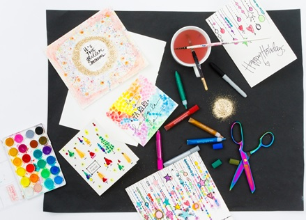 FREE Family Drop-In Holiday Card-Making