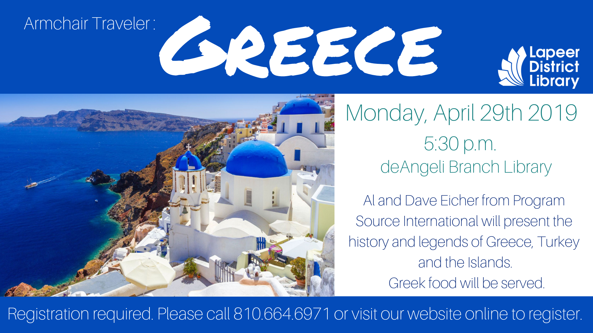 Armchair Traveler: Greece