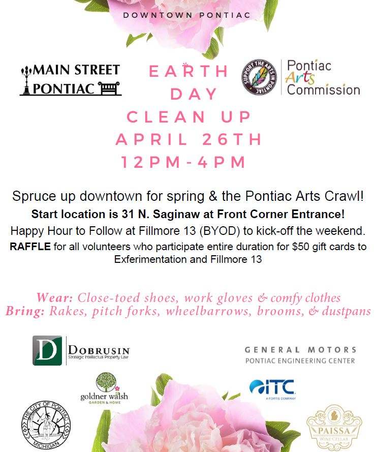 Downtown Earth Day Clean Up