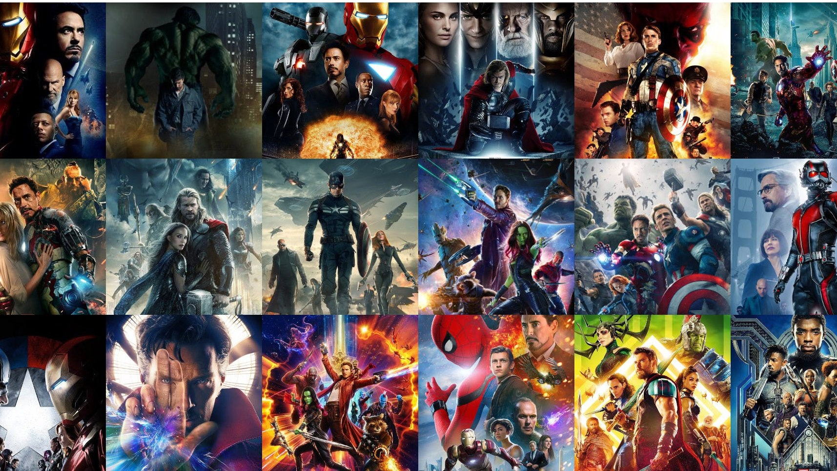 Midwinter Break Marvel Movies for Teens