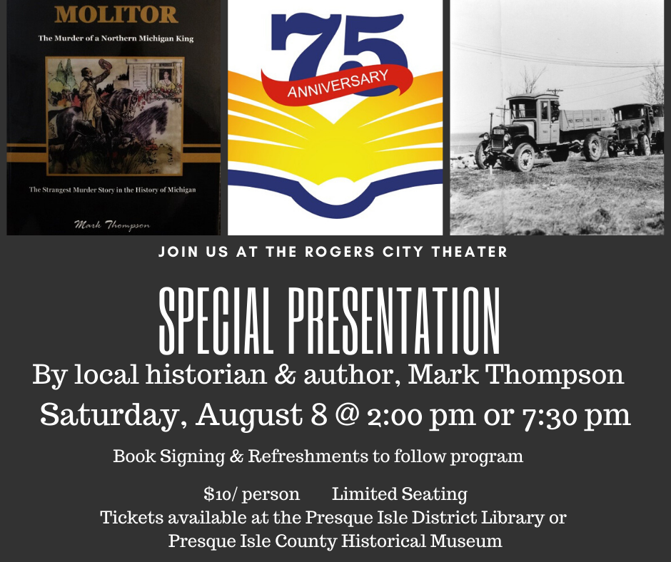 Special Presentation by Local Author and Historian, Mark Thompson