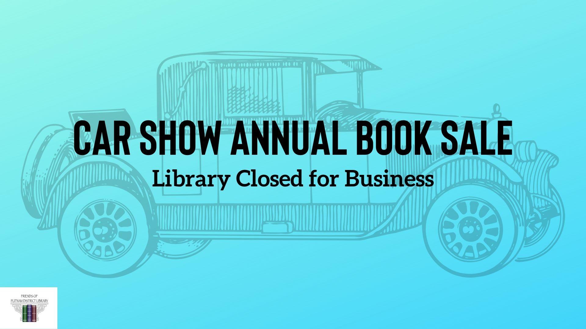 Annual Car Show Book Sale
