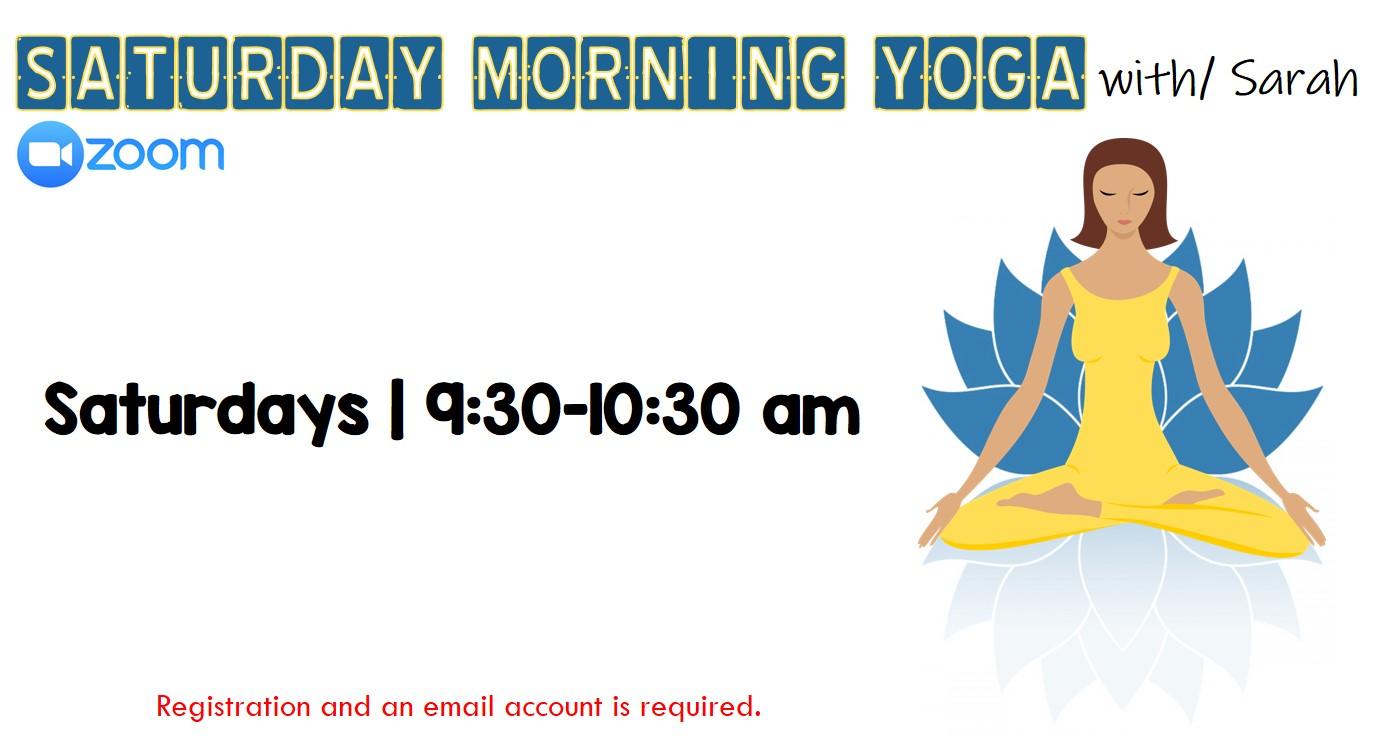 Virtual Saturday Morning Yoga