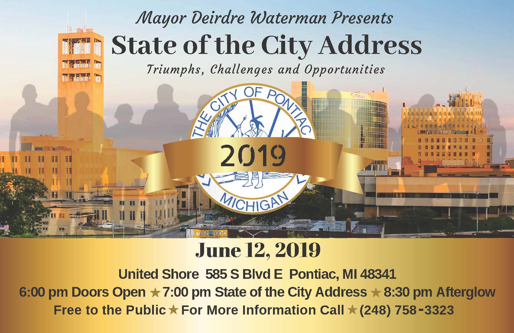 2019 City of Pontiac State of the City Address