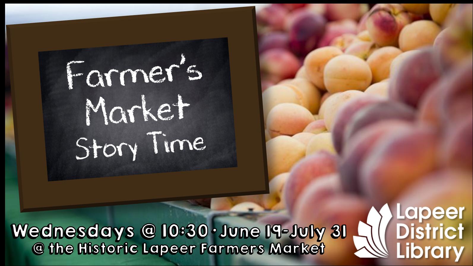 Farmer's Market Storytime
