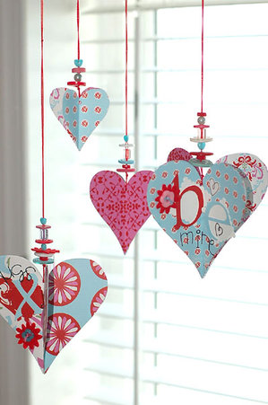 Adult Craft   Valentine Ornaments