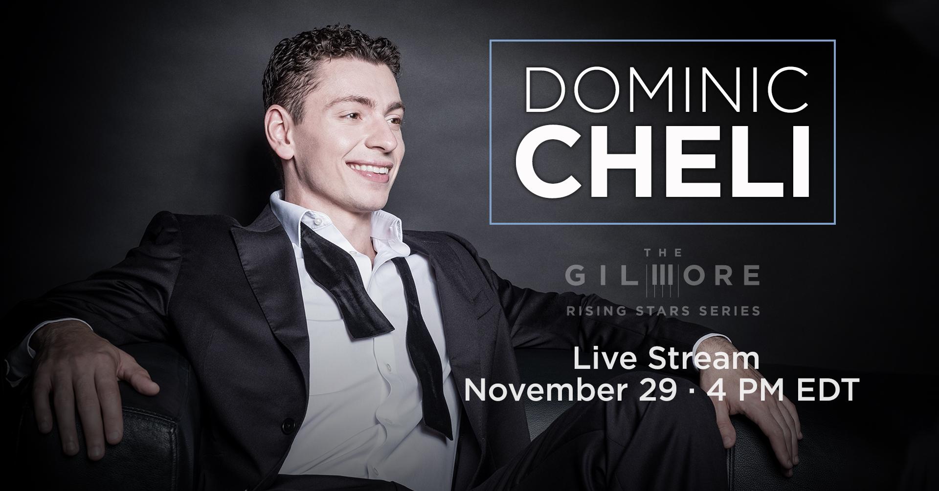 Dominic Cheli | Rising Stars Live Stream Event