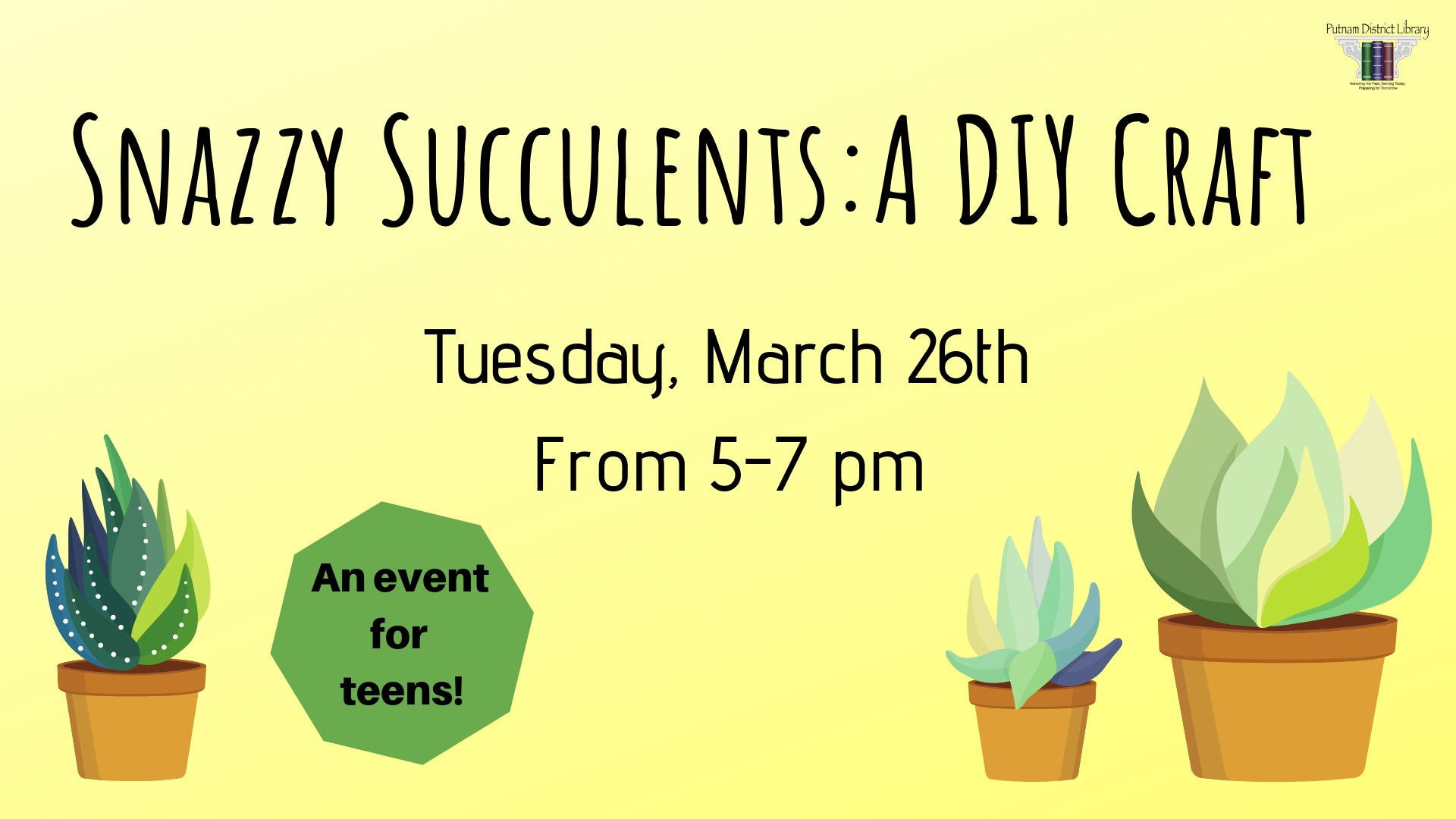 Snazzy Succulents: A DIY Craft