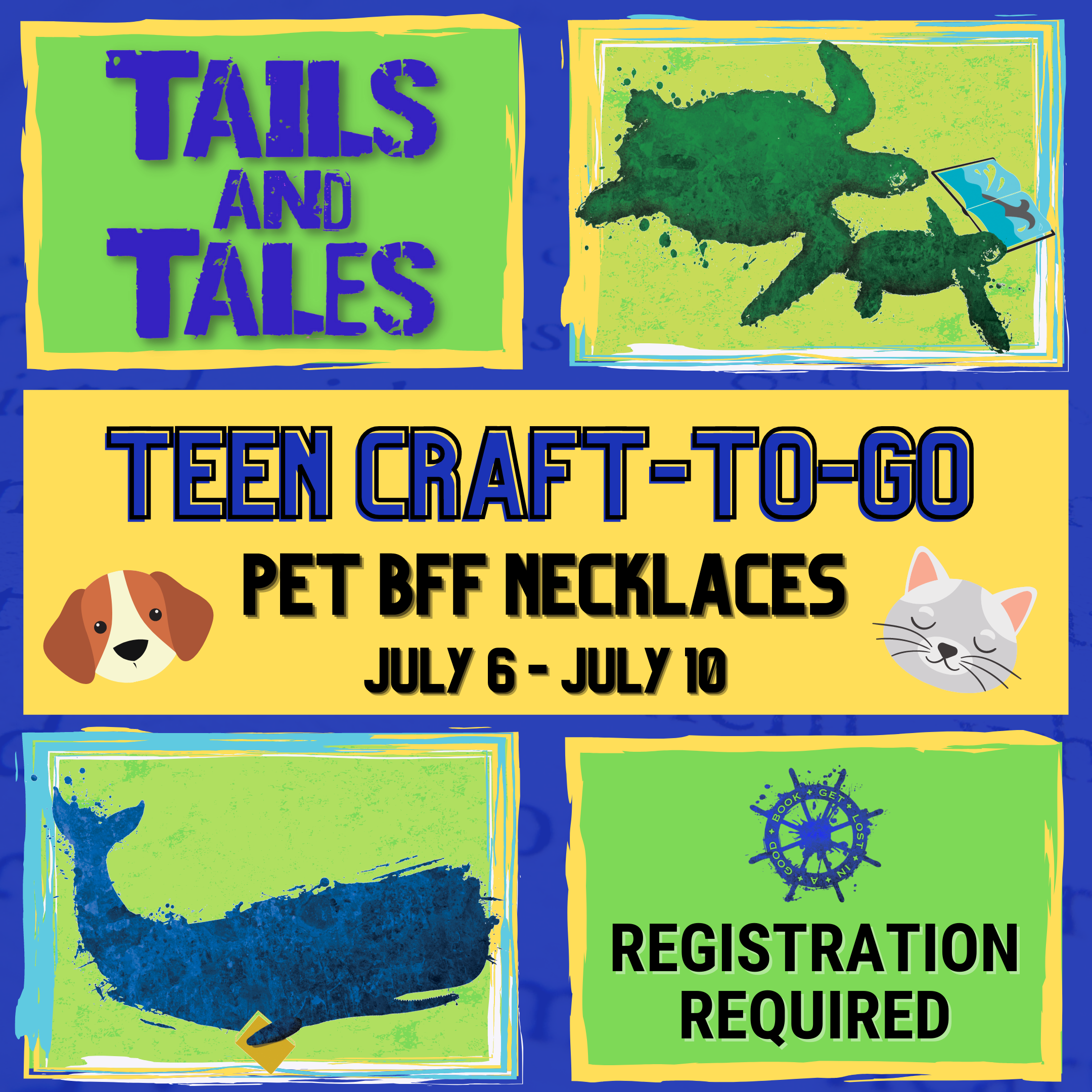 Teen Craft-To-Go: Pet BFF Necklace