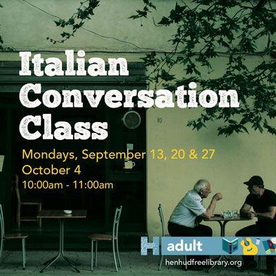 Italian Conversation Class